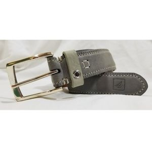 Sperry Leather Belt